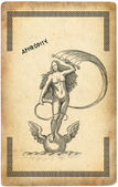 Old greek goddess aphrodite — Stock Photo
