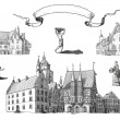 Old town illustration — Stock Photo #12075813