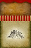 Eski şehir şekil — Stok fotoğraf