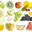 Fruits set — Stock Photo #12097646