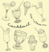 Cocktail set — Stock Photo