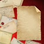 Old postcards set — Stock Photo #12641582