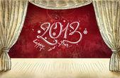 Fundo do ano novo — Fotografia Stock