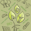 Eco illustration - Stock Photo