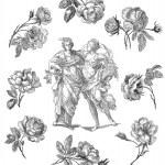 Country women illustration — Stock Photo #13838621