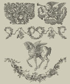 Pegasus illustration — Stock Photo