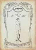 Aphrodite illustration — Stock Photo