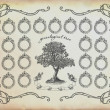 Stock Photo: Family tree