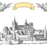 Old town illustration — Stock Photo #21893649