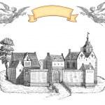 Old town illustration — Stock Photo #21893967