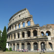 Roma - Amphitheatre Flavian Colosseum. Ancient arena — Stock Photo