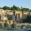Ruins of the Roman Forum (Foro Romano) in Rome, Italy — Foto Stock