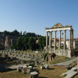Ruins of the Roman Forum (Foro Romano) in Rome, Italy — Photo