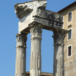 Ruins of the Roman Forum (Foro Romano) in Rome, Italy — Stock Photo