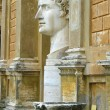 Statue of Gaius Julius Caesar Augustus at Vatican — Stock Photo