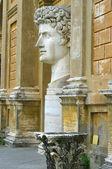 Statue of Gaius Julius Caesar Augustus at Vatican — Stock Photo