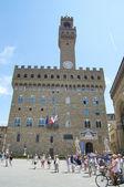 The Palazzo Vecchio, Florence, Italy. — Stock Photo