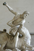 Hercules and the Centaur Sculpture in Florence — Stock Photo