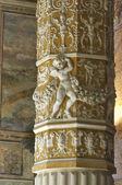 The Palazzo Vecchio inside — Stock Photo