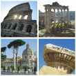 Landmarks of Rome — Stock Photo #28268849
