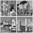 Landmarks of Rome — Stock Photo