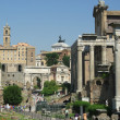 Foro romano,Roman Forum in Rome — Stockfoto