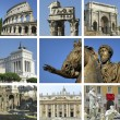 Stock Photo: Landmarks of Rome