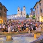 Via Condotti, Rome — Stock Photo #29557369