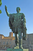 Statue of emperor Augustus in Rome, Italy — Stock Photo