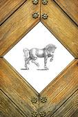 Horse illustration — Stock Photo