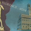 Stock Photo: Florence view