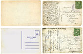 Old postcards — Foto de Stock
