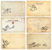 Vecchie cartoline — Foto Stock