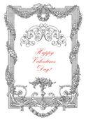 Valentine's day card — Zdjęcie stockowe
