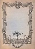 Old frame — Stock Photo