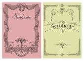 Sertificate — Stock Photo