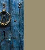 Old door background — Stock Photo