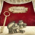 Pirate treasures — Stock Photo #42860503