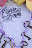 Sweet memories background — Photo