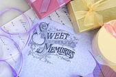 Sweet memories background — Stock Photo