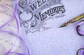 Sweet memories background — ストック写真