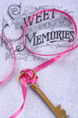 Sweet memories background — Stock Photo