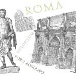 Rome view — Stock Photo #44216949