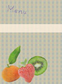 Fruits background — Foto Stock