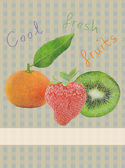 Fruits background — Foto de Stock