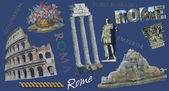 Rome view illustration — Stock Photo