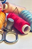 Um workmount é uma oficina de costura — Foto Stock