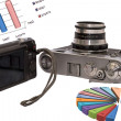 Two cameras of different generations — Stock Photo #21474145