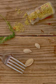Spices for a meal — Stock Photo