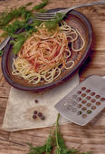 Pasta italiana — Stock Photo
